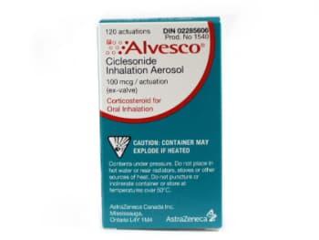 Buy Alvesco 100 mcg from Canada