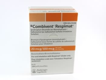 Combivent Respimat Inhaler Directions