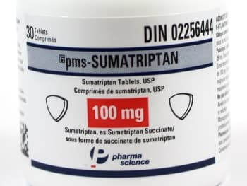 Generic Imitrex 100mg NEW package