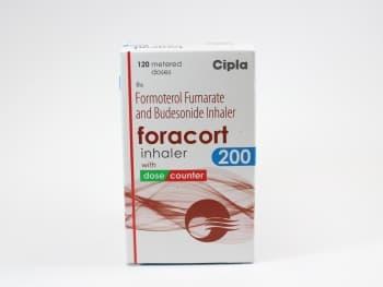 Budesonide/Formoterol 200 mcg/6 mcg/120 dose