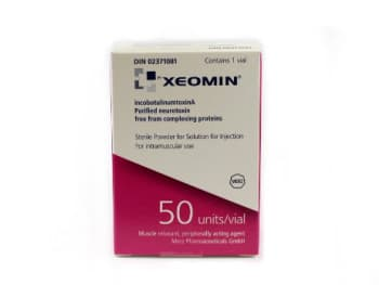 Buy Xeomin sterile powder for solution for injection