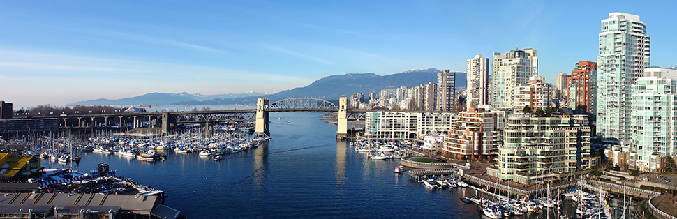 City Scenery of Vancouver where Canadian Pharmacy World is Located